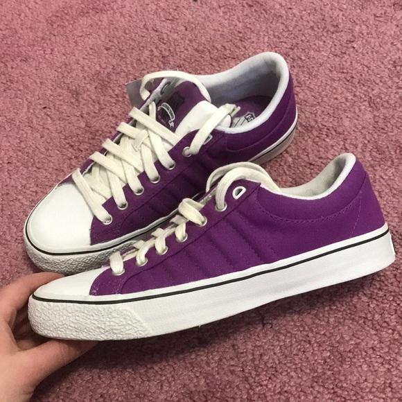 K-Swiss Shoes   Purple Kswiss Shoes